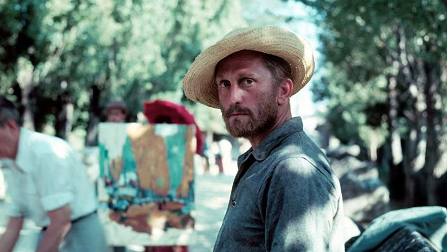 Kirk Douglas as Vincent Van Gogh in 'Lust For Life'. (Credit: MGM)