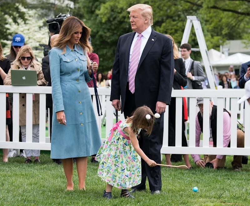 Image result for melania trump easter