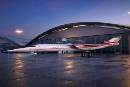 FILE PHOTO: The Aerion AS2, the world's first supersonic business jet, being developed by Lockheed Martin Corp partnering with plane maker Aerion Corp of Reno, Nevada, is shown in this handout photo illustration released December 15, 2017. Aerion Corporation/Handout via REUTERS/File Photo
