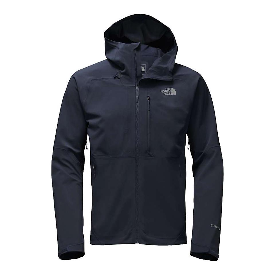 "<p><strong>The North Face</strong></p><p>moosejaw.com</p><p><strong>$176.99</strong></p><p><a href=""https://www.moosejaw.com/product/the-north-face-men-s-apex-flex-gtx-2-0-jacket_10362070"" target=""_blank"">Buy Now</a></p><p>Originally $248.95</p>"