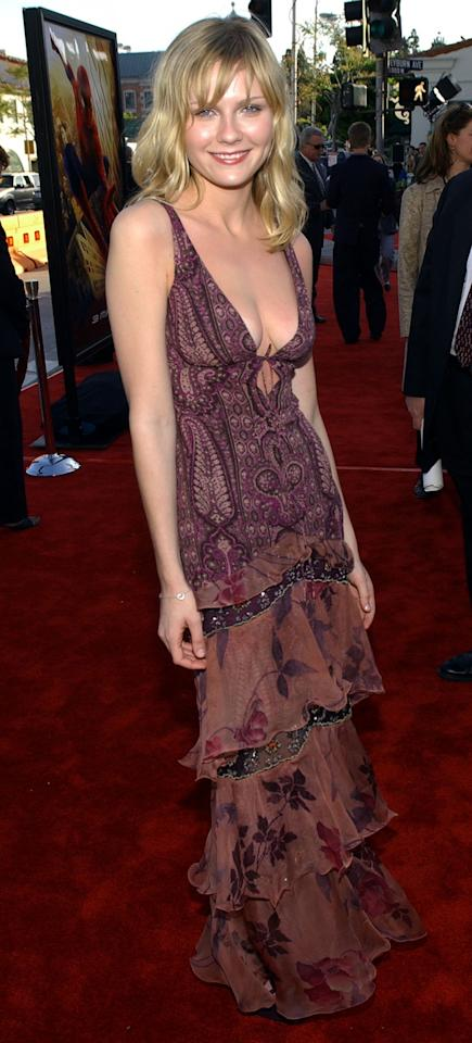 <p>Dunst, fresh from<em> Bring It On</em>, played Peter Parker's love interest Mary Jane Watson in the first three <em>Spider-Man </em>movies. (Photo: Vince Bucci/Getty Images) </p>