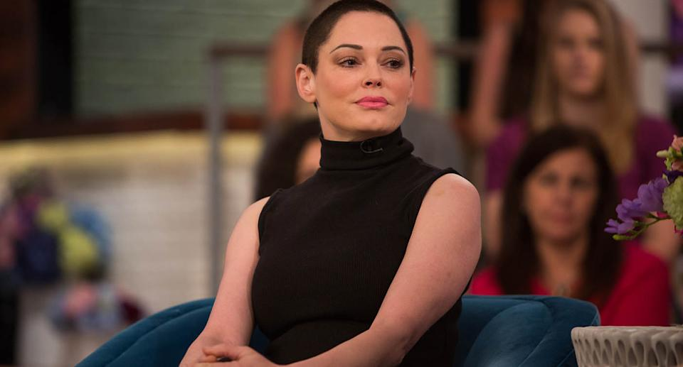 Rose McGowan. Source: Getty Images