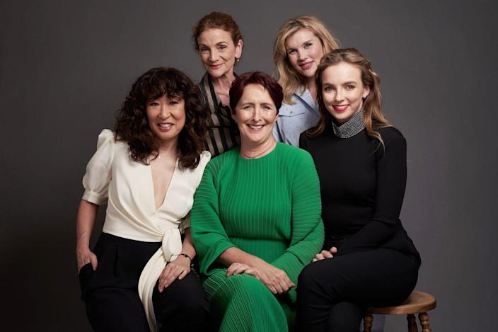 "<p>A close friend of Phoebe Waller-Bridge, Fennell did some writing on Waller-Bridge's series <em>Killing Eve</em> before taking over as showrunner in 2019. ""I didn't think that I'd have the opportunity to work on something at such a big scale,"" <a href=""https://www.nytimes.com/2019/05/26/arts/television/killing-eve-season-2-finale.html"" rel=""nofollow noopener"" target=""_blank"" data-ylk=""slk:she told the New York Times"" class=""link rapid-noclick-resp"">she told the <em>New York Times</em> </a>that year. ""It's life-changing, really."" Her writing and producing work earned her two Emmy nominations in 2019. </p> <p>Waller-Bridge called her pal a ""badass"" in <a href=""https://www.harpersbazaar.com/uk/culture/culture-news/a27450007/phoebe-waller-bridge-emerald-fennell-series-2-killing-eve/"" rel=""nofollow noopener"" target=""_blank"" data-ylk=""slk:a 2019 chat"" class=""link rapid-noclick-resp"">a 2019 chat</a> with <em>Harper's Bazaar.</em> ""Her roar is very evident in [her work] and that's what gives it its energy.""</p>"