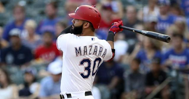 40-36 - Mazara's legendary blast not enough as Rangers fall 5-4 in 10 to White Sox