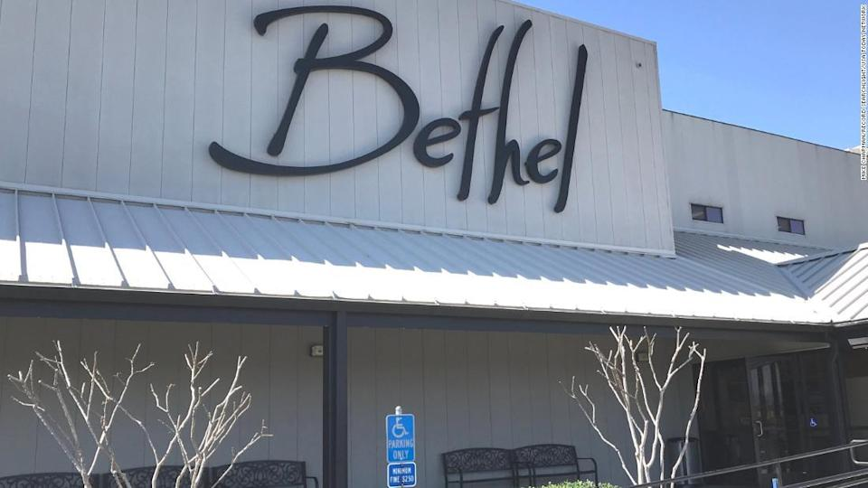 """<p>Bethel Church in Redding, California. One of its leaders has shared QAnon ideas on social media. </p><div class=""""cnn--image__credit""""><em><small>Credit: Mike Chapman/Record Searchlight/USA Today Network / USA Today Network</small></em></div>"""