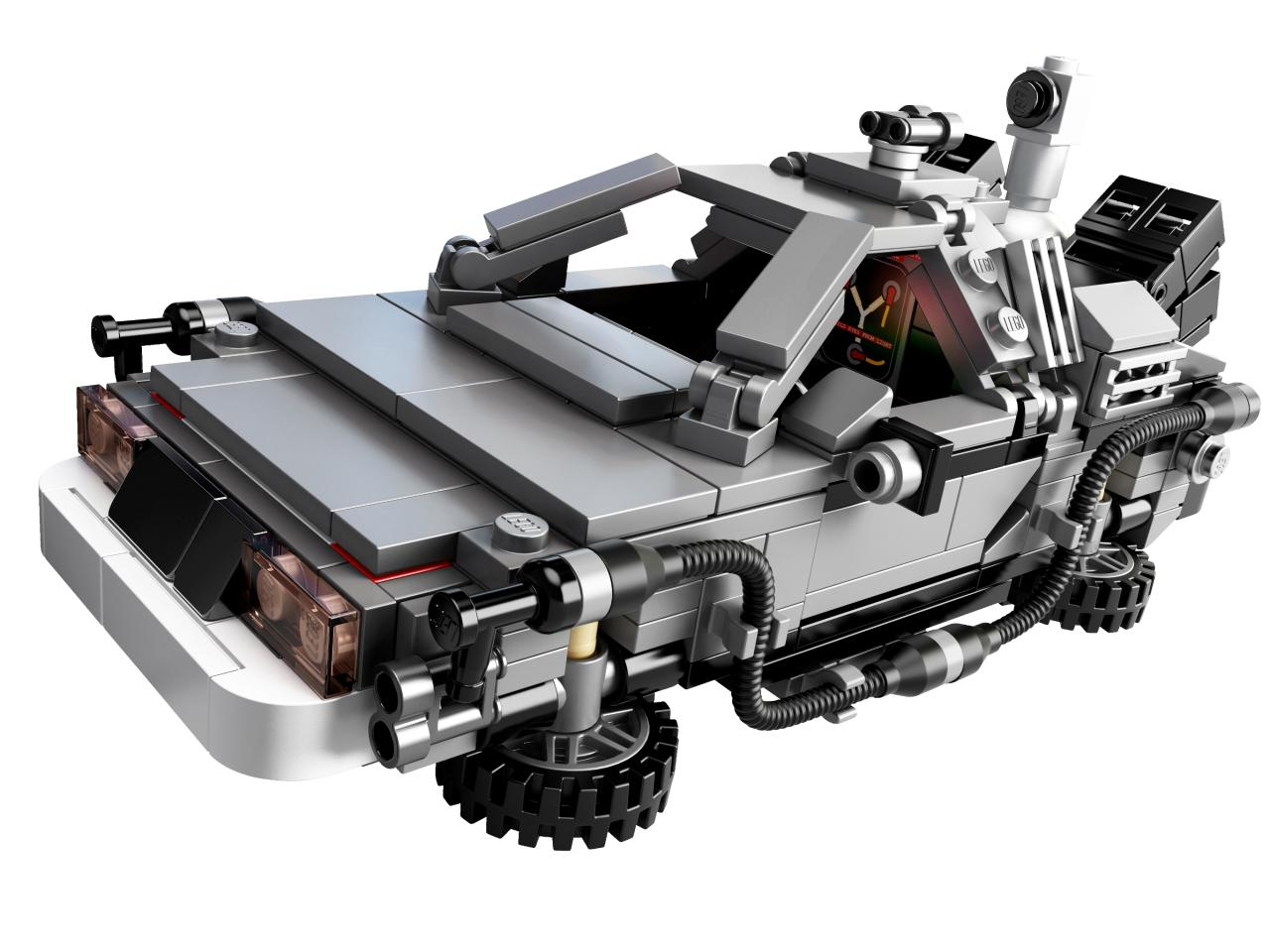 "<b>""Back to the Future""</b> <b>Delorean</b><br />LEGO"