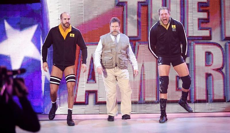 The Real Americans WWE