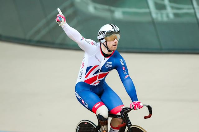 Jody Cundy wants nothing less than victory at the Tissot UCI Track World Cup in London