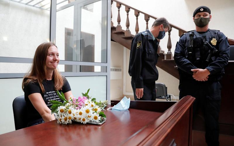 Trial for Svetlana Prokopyeva lasted for months before the judge handed down the ruling on Monday - Anton Vaganov/Reuters