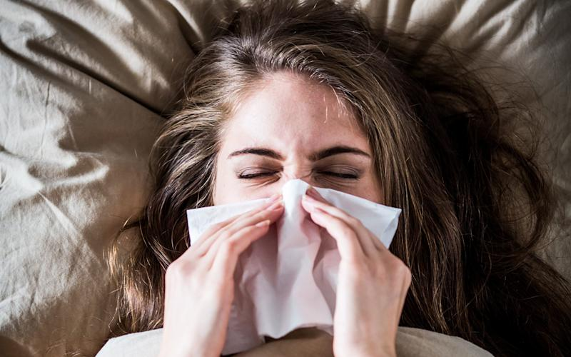 The research suggests the common cold could be harnessed to cure cancer   - This content is subject to copyright.