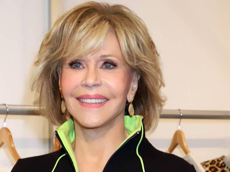 Jane Fonda vows never to buy any more clothes