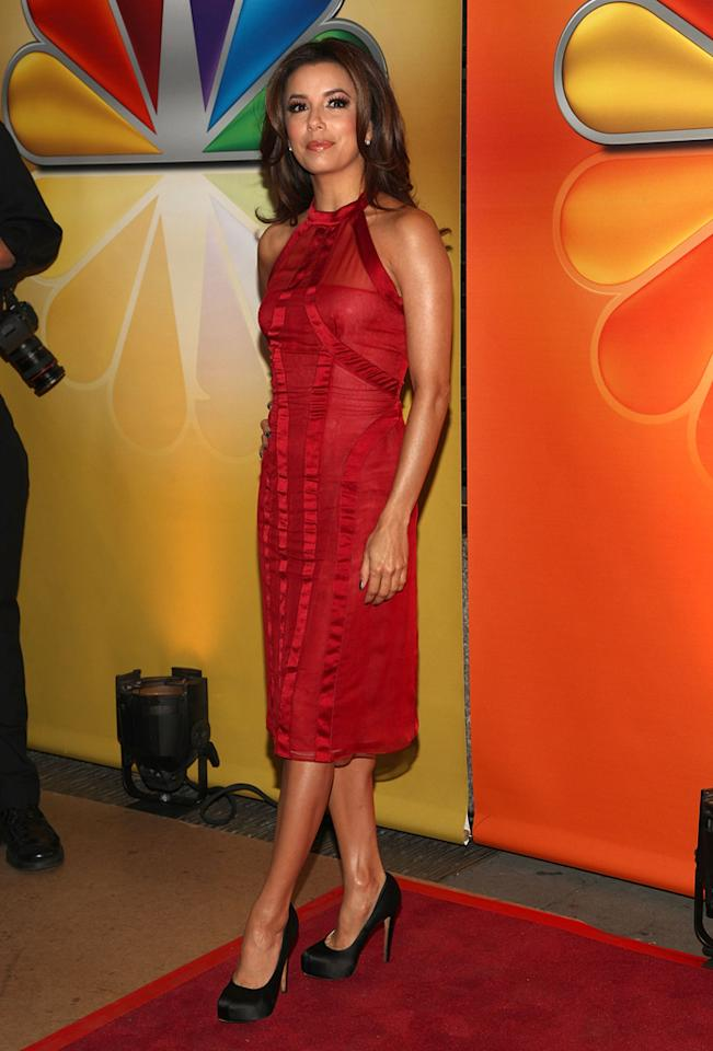 "Eva Longoria (""Ready for Love"") attends NBC's 2012 Upfront Presentation at 51st Street on May 14, 2012 in New York City."