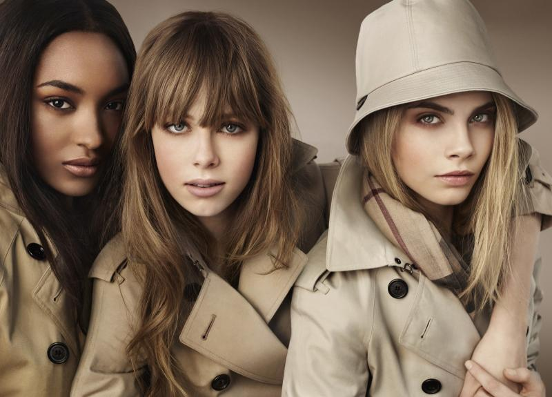 Keep it on the down low girls, but here in the Grazia Beauty Department we do rather like to think of ourselves as Burberry girls (if they don't mind so very much)