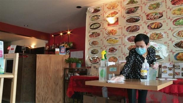Some customers have been pushing back against mask policies, say restaurant owners. (Stephanie vanKampen/CBC - image credit)