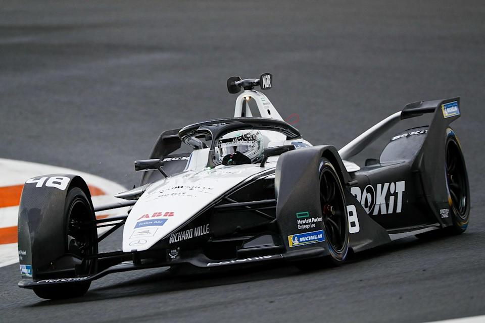 Venturi's Mortara tops opening session of FE testing
