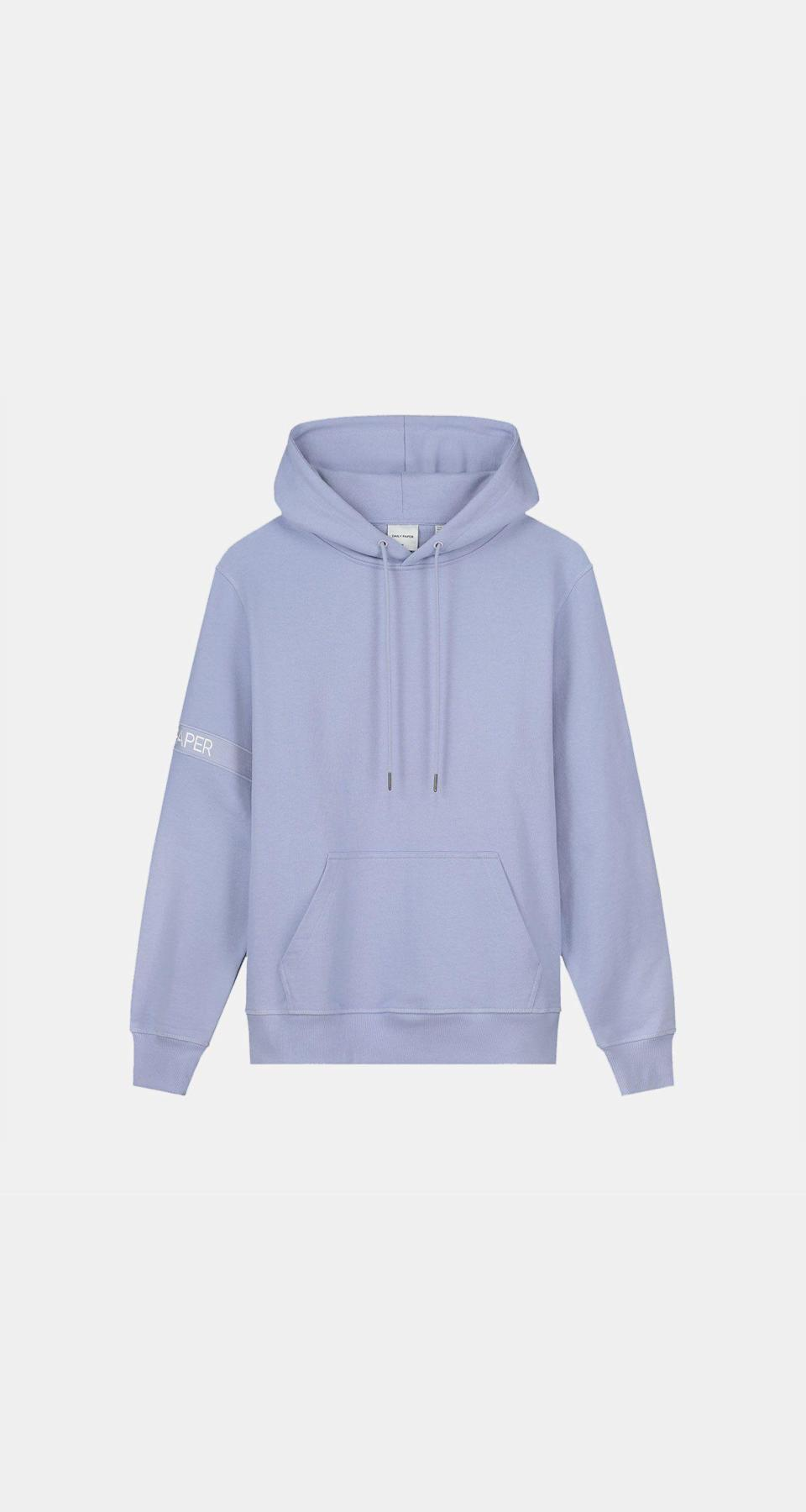 """<p><strong>Daily Paper</strong></p><p>dailypaperclothing.com</p><p><strong>121.00</strong></p><p><a href=""""https://www.dailypaperclothing.com/collections/captain-hoodies/products/jacaranda-purple-captain-hoody"""" rel=""""nofollow noopener"""" target=""""_blank"""" data-ylk=""""slk:Shop Now"""" class=""""link rapid-noclick-resp"""">Shop Now</a></p><p>Don't you know it's shorts and hoodies season?</p>"""