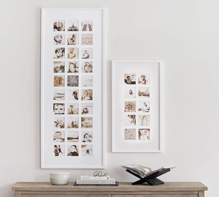 """<p>potterybarn.com</p><p><strong>$129.00</strong></p><p><a href=""""https://go.redirectingat.com?id=74968X1596630&url=https%3A%2F%2Fwww.potterybarn.com%2Fproducts%2Fwood-gallery-10-opening-frames&sref=https%3A%2F%2Fwww.thepioneerwoman.com%2Fholidays-celebrations%2Fgifts%2Fg37069384%2Fbest-anniversary-gifts%2F"""" rel=""""nofollow noopener"""" target=""""_blank"""" data-ylk=""""slk:Shop Now"""" class=""""link rapid-noclick-resp"""">Shop Now</a></p><p>So many of our most important moments become little square images on our Instagrams. Get those images off your phone and put them into this grid and gift it to your partner. You can include photos from throughout your relationship or theme it to one vacation you took or life event you experienced.</p>"""