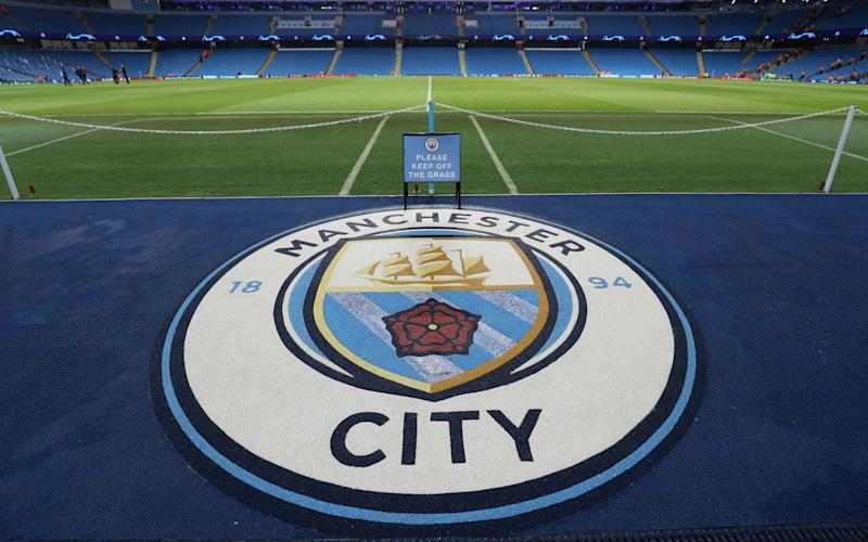 a general view of the Etihad Stadium, home of Manchester City - PA