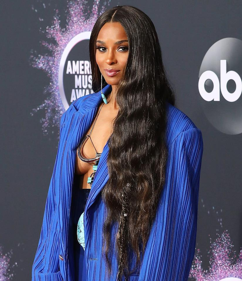 """The """"Level Up"""" star has always been atop her style game. So it's no surprise that to host the <a href=""""https://people.com/tag/american-music-awards/"""">American Music Awards</a> on Sunday, the 34-year-old songstress switched up her fashion flow nine times, from the red carpet to the closing curtain. And with each outfit change came a bold new beauty look courtesy of hairstylist<a href=""""https://www.instagram.com/cesar4styles/?hl=en"""">César DeLeön Ramirêz</a> and makeup artist<a href=""""https://www.instagram.com/yolondafrederick/?hl=en"""">Yolonda Frederick-Thompson</a>, who took PEOPLE behind the scenes of their epic night."""