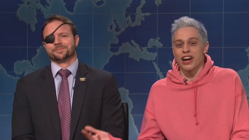 Pete Davidson apologizes to wounded vet he mocked on 'Saturday Night Live'
