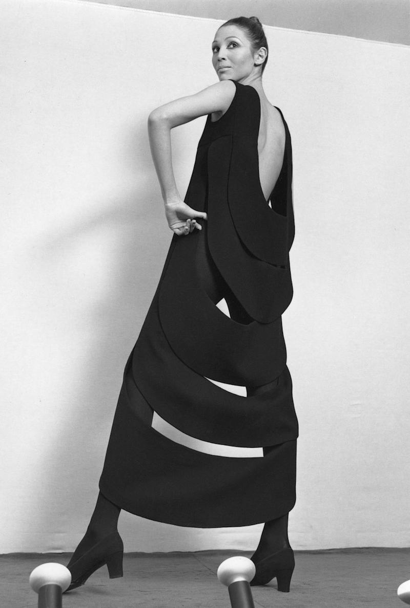 Photo credit: Yoshi Takata. Courtesy of Archives Pierre Cardin. © Archives Pierre Cardin