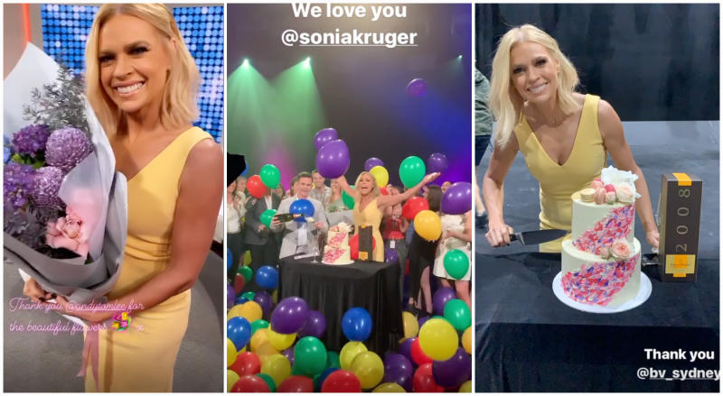 Sonia Kruger's last day