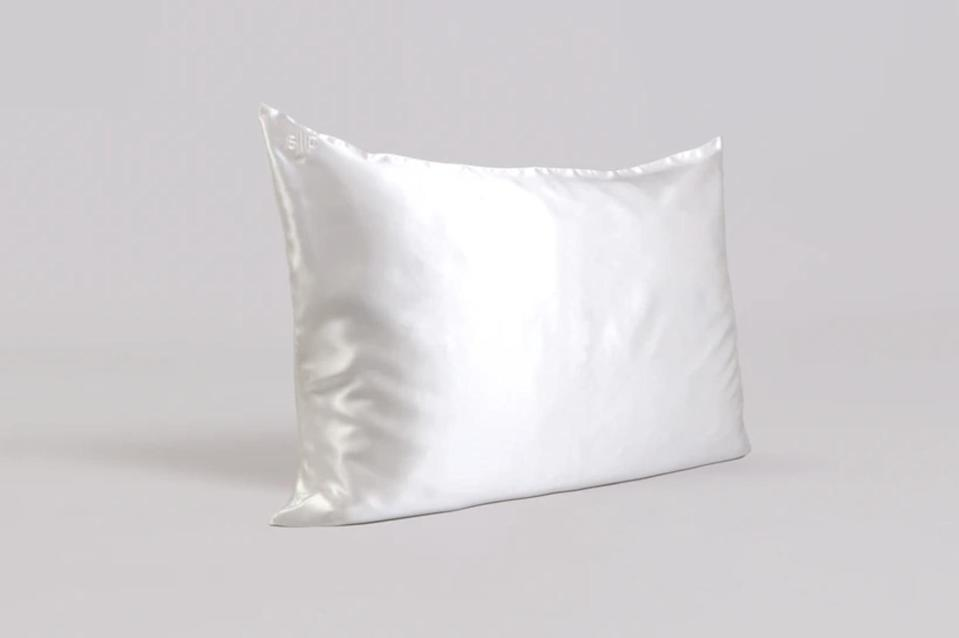 "<p>Speaking of fabrics, if you don't have a silk or satin pillowcase - like the <span>Slip Satin Zippered Pillowcase</span> ($89) - we highly recommend investing in one since these are much easier on your curls than a regular, cotton pillowcases. ""Sleeping on silk pillowcases is always a good idea for your hair, especially in winter when you want to retain as much moisture as you can,"" Taylor said. </p> <p>Satin pillowcases aren't always cheap, so alternatively if you're not ready to spend the money on one, or even if you feel like you want some extra protection throughout the night, you could always buy a satin scarf or head wrap to sleep in that'll work just as well.</p>"