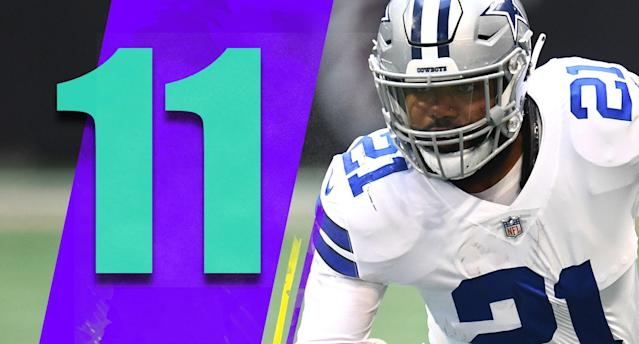 <p>Not to be negative, but now that the Cowboys look like favorites in the NFC East and have gotten everyone's hopes back up, if Dallas ends up not making the playoffs now it's going to look even worse on Jason Garrett. (Ezekiel Elliott) </p>