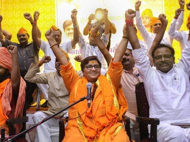 'Didn't become MP to clean toilets': Pragya Singh Thakur says parliamentarians 'will do work for which we were elected'