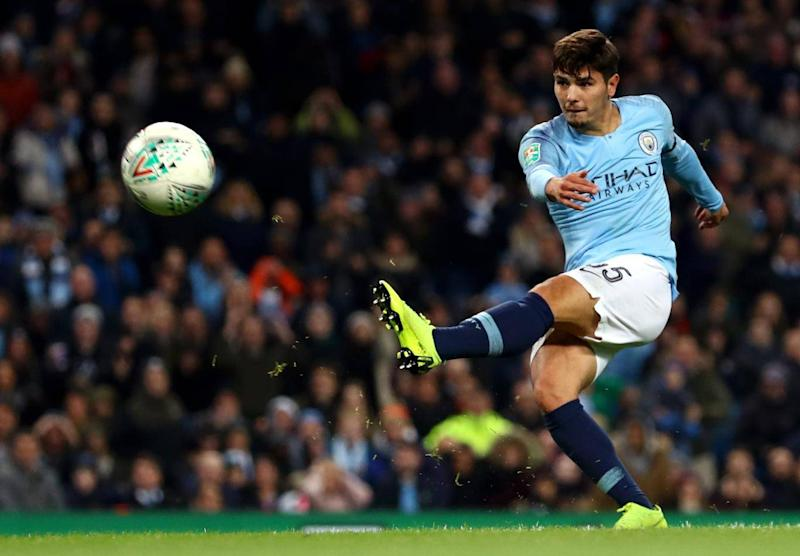 Diaz is regarded as one of City's brightest young talents (Getty Images)