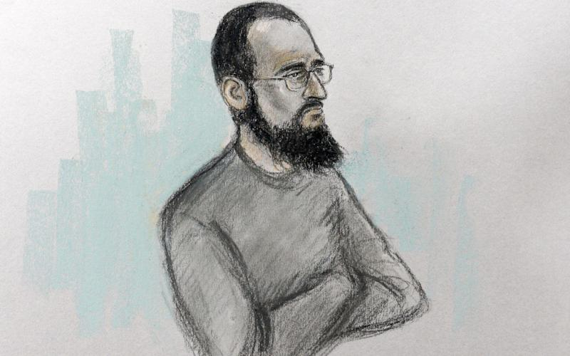 Husnain Rashid was remanded to appear at the Old Bailey in December - PA