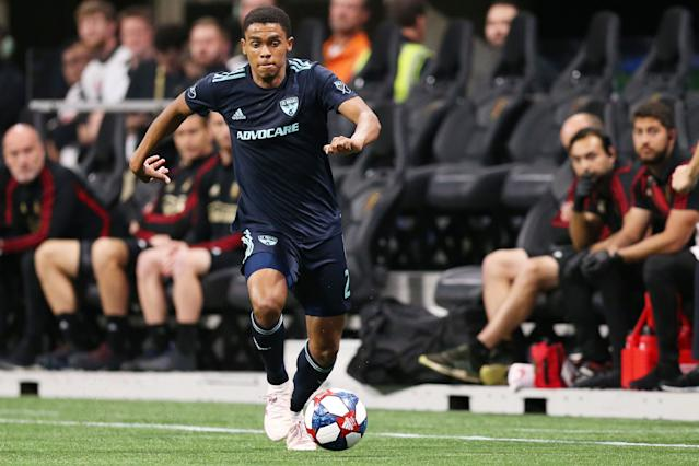 Right back Reggie Cannon is one of many FC Dallas academy products now starting for the first team. (Carmen Mandato/Getty)