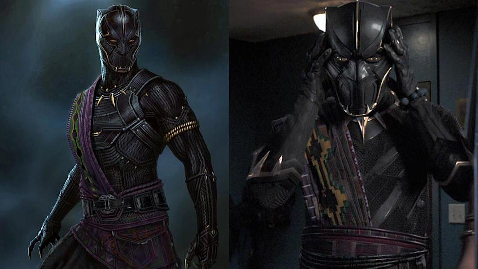 King T'Chaka, the Black Panther before T'Challa.