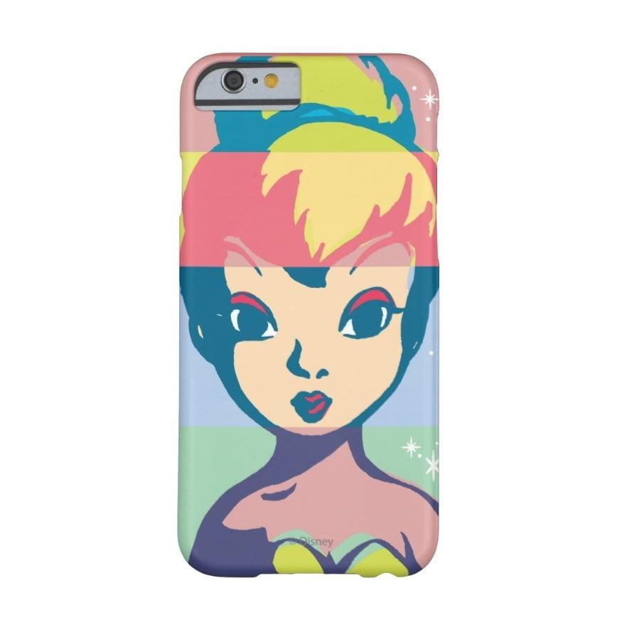 <p>Add a pop of color with this <span>Retro Tinker Bell case</span> ($34).</p>