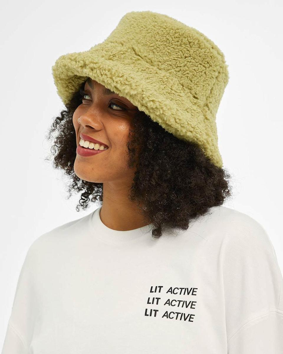 <p>This colorful <span>Sunflower Fur Bucket Hat</span> ($38) blends style and comfort in an eye-catching way. It will quickly become a staple in your accessories.</p>