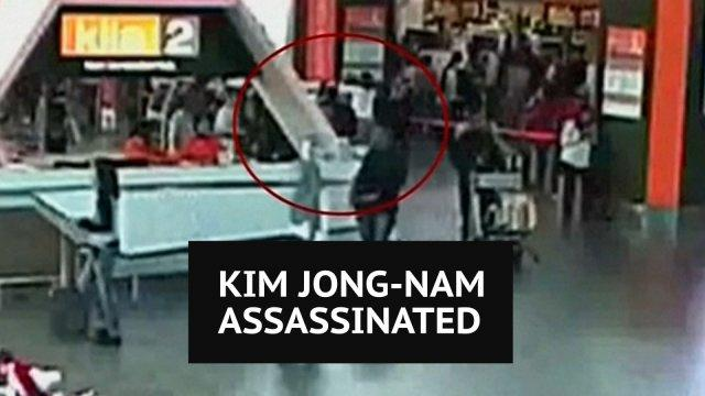 CCTV footage shows Kim Jong-nam's assassination at Malaysian airport