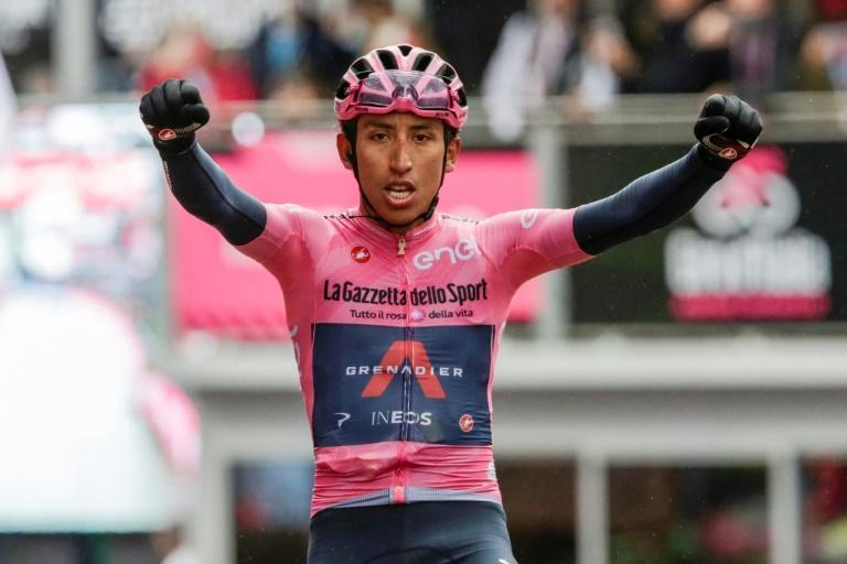 Colombia's Egan Bernal won the 'Queen stage' in the Dolomites.