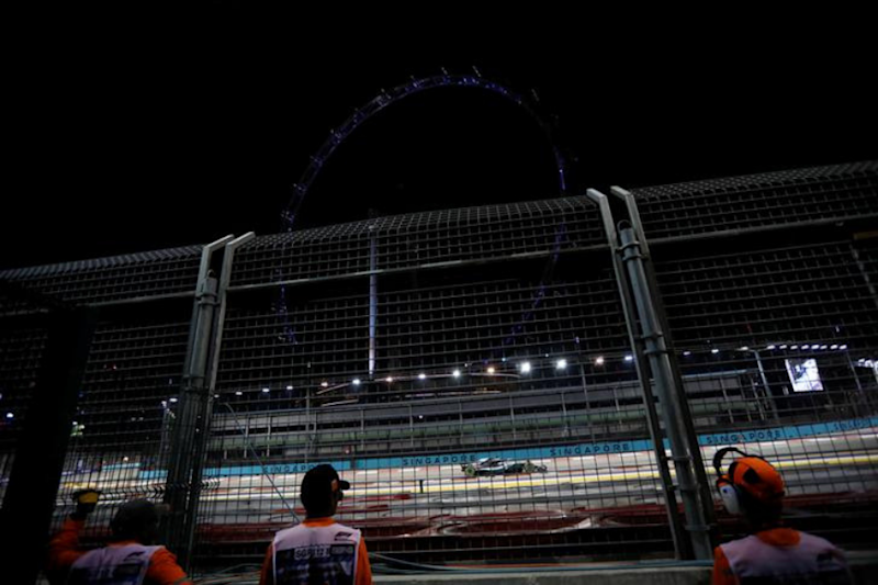 Formula One: Singapore Air 'Unhealthy' ahead of F1 Race