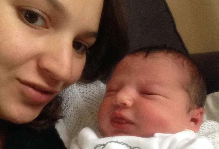 Mum-of-three Lucy Sealey was verbally abused when requesting brief breaks from her nurse training to breastfeed her son. (Supplied)