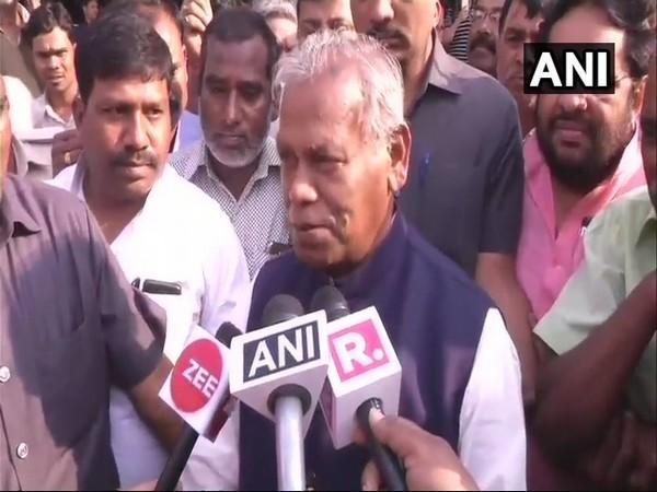 Hindustani Awam Morcha (Secular) leader Jitan Ram Manjhi (File Photo/ANI)