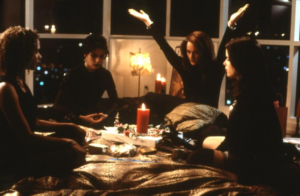 """<p>""""We are the weirdos, mister."""" With that line, <strong>The Craft</strong> became an instant favorite with teens everywhere. The movie's modern-day witches are scary as hell when they want to be, but they're also relatable. They taught us about using our power for good, what can happen if you don't stand by your friends, and that """"light as a feather, stiff as a board"""" is the best sleepover game ever. And for those reasons, we will forever be grateful to the ultimate '90s coven. </p> <p><a href=""""https://play.hbomax.com/page/urn:hbo:page:GYEfQVw4WzIu5qwEAAAAa:type:feature?camp=googleHBOMAX"""" class=""""link rapid-noclick-resp"""" rel=""""nofollow noopener"""" target=""""_blank"""" data-ylk=""""slk:Watch The Craft on HBO Max now."""">Watch <strong>The Craft</strong> on HBO Max now.</a></p>"""