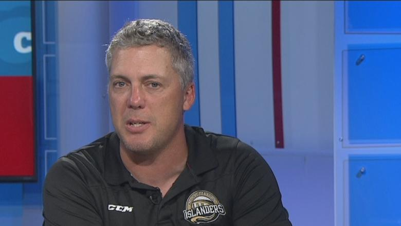 Charlottetown Islanders in training camp, looking to build on last year's success