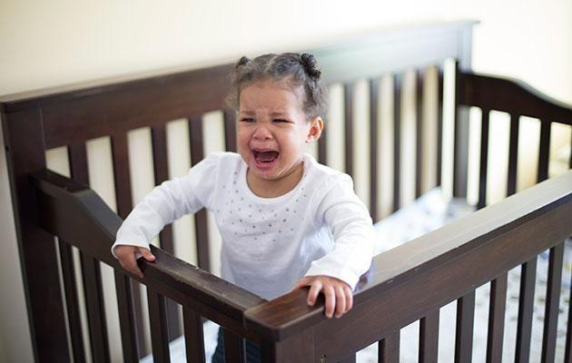 A lack of routine can lead to an overtired unsettled baby. Photo: Getty