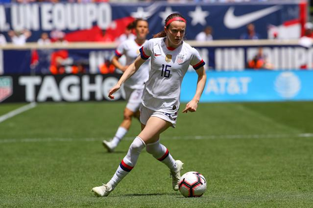 The U.S. women's national team will need Rose Lavelle's playmaking in France. (Getty)