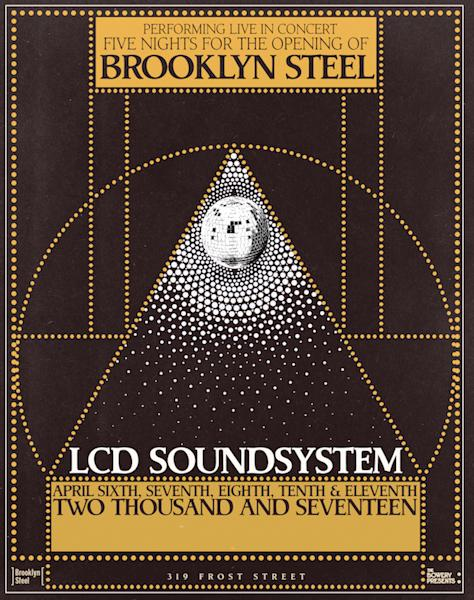 Five nights to open the new venue Brooklyn Steel