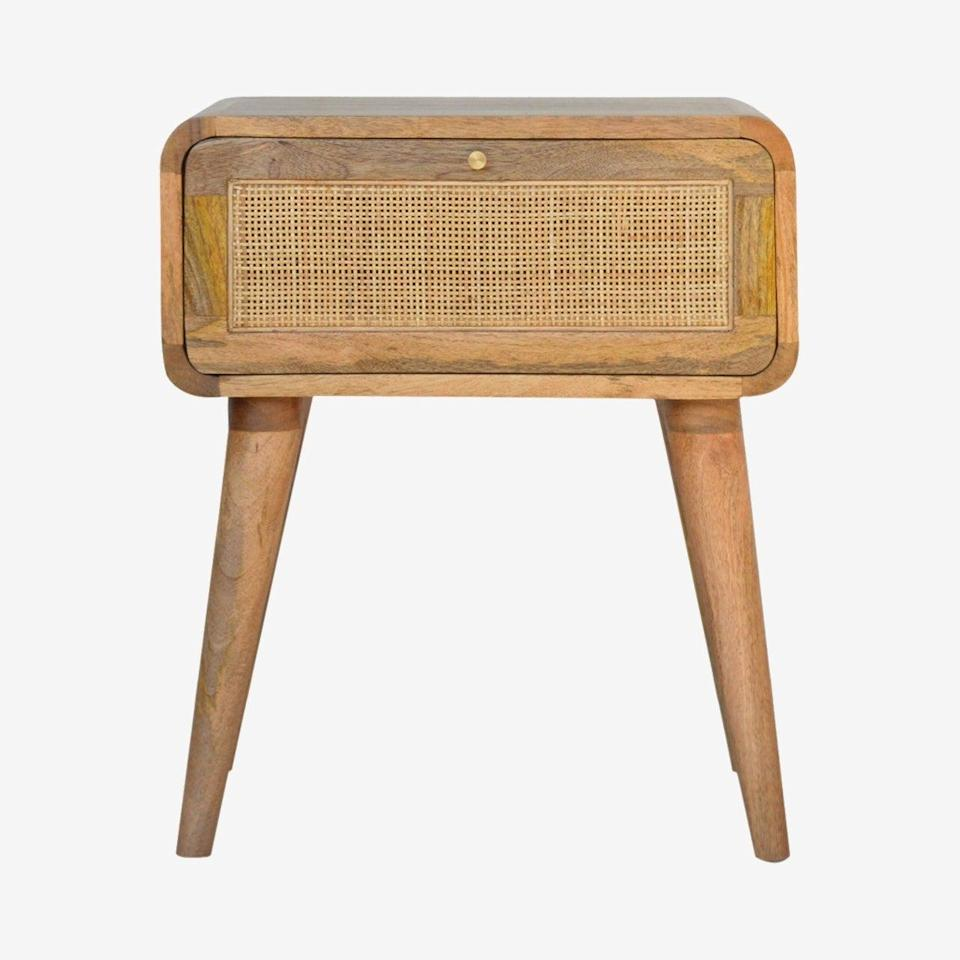 """<br><br><strong>Artisan Furniture</strong> Woven Bedside Table by Artisan Furniture, $, available at <a href=""""https://www.iamfy.co/product/woven-bedside-table"""" rel=""""nofollow noopener"""" target=""""_blank"""" data-ylk=""""slk:IamFy"""" class=""""link rapid-noclick-resp"""">IamFy</a>"""