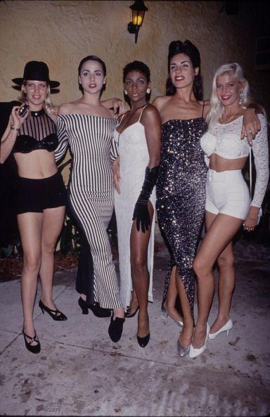 <p>Crop tops, tight dresses, and sequins galore—today's trends are still taking notes from the 1990s. (And we're still copying their poses, too.)</p>