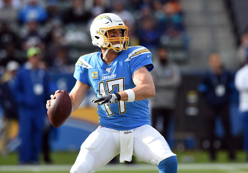 Philip Rivers, whose contract is set to expire, said he wants to return to the field next season. (Chris Williams/Icon Sportswire/Getty Images)