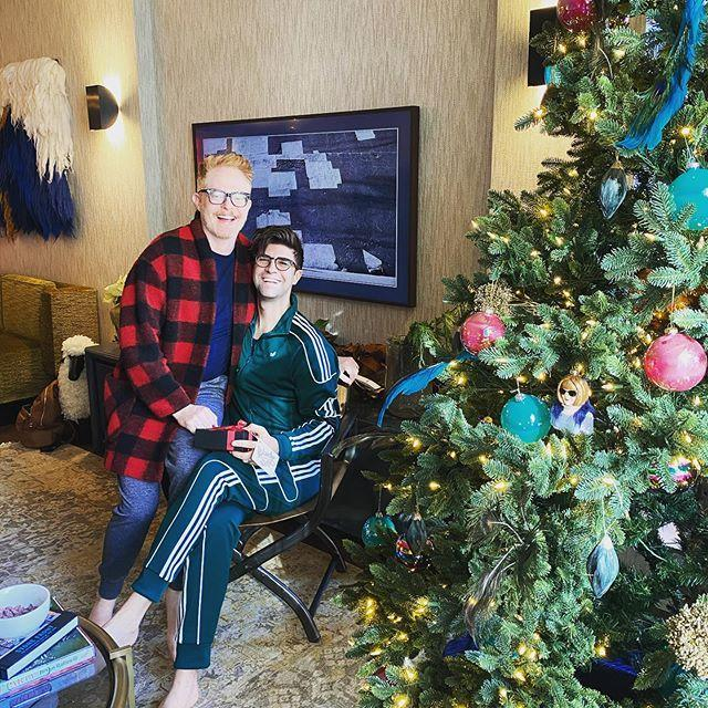"""<p>The M<em>odern Family</em> star and his husband <a href=""""https://people.com/tv/jesse-tyler-ferguson-celebrates-anniversary-justin-mikita/"""" rel=""""nofollow noopener"""" target=""""_blank"""" data-ylk=""""slk:Justin Mikita"""" class=""""link rapid-noclick-resp"""">Justin Mikita</a> gave their Big Apple apartment a makeover last year, as they plan to spend more time on the East Coast now that the show has ended and they've <a href=""""https://people.com/parents/jesse-tyler-ferguson-welcomes-baby-beckett-mercer-justin-mikita/"""" rel=""""nofollow noopener"""" target=""""_blank"""" data-ylk=""""slk:welcomed their first child"""" class=""""link rapid-noclick-resp"""">welcomed their first child</a>, son Beckett, three months. </p> <p>They're raising Beckett in a two-bedroom, two-and-a-half-bath home in the Chelsea neighborhood of Manhattan.</p> <p>""""I feel very at home here,"""" Ferguson told <em>Architectural Digest</em> in February. """"I was strictly a theater actor before moving to Los Angeles, so New York sort of feels like my true home.""""</p> <p>The 1,500-square-foot apartment boasts an open floor plan. The pair's personality can be seen throughout the home, most notably in a bathroom with black and gold wallpaper. Custom designed by John Robertson, that showcases the couple's favorite New York scenes and a drawing of their beloved dog.</p> <p><a href=""""https://people.com/home/jesse-tyler-ferguson-justin-mikitas-upgraded-nyc-apartment/"""" rel=""""nofollow noopener"""" target=""""_blank"""" data-ylk=""""slk:See more photos of Jesse Tyler Ferguson's home."""" class=""""link rapid-noclick-resp"""">See more photos of Jesse Tyler Ferguson's home.</a></p>"""