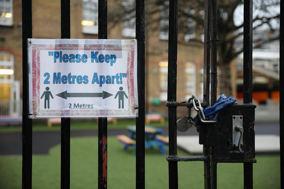 <p>Boris Johnson is expected to announce all children will be allowed to return to school on 8 March</p> (Getty Images)